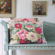 Vintage Floral Pillow Cushion