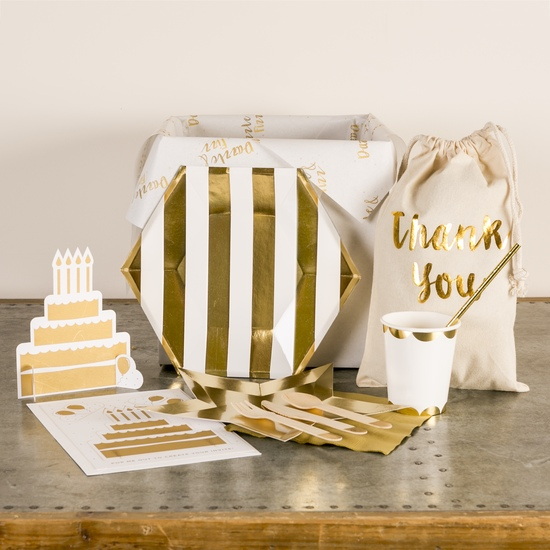Dazzle and Fizz Signature Party in a Box