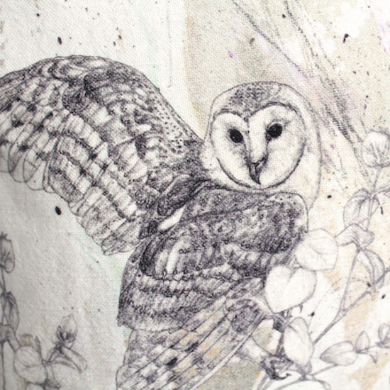 Sky Siouki Barn Owl Design