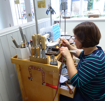All jewellery is made by Lilia's own hands using traditional techniques