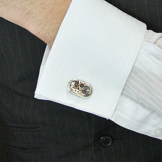 Cufflinks with a difference