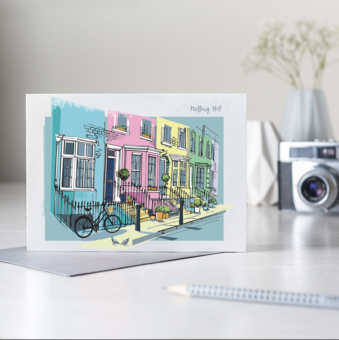 London Calling Notting Hill Card