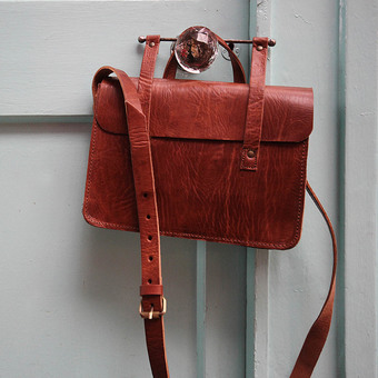 Mini Leather Satchel