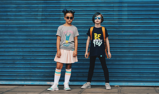 Kidult & Co is a British designed Clothing and lifestyle brand for little ones with attitude.  With a simple monochrome colour pallet and gender-neutral designs