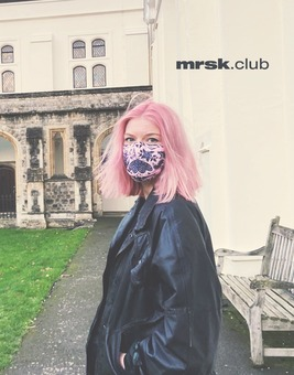 Mrsk Club's November mask in Southwark.