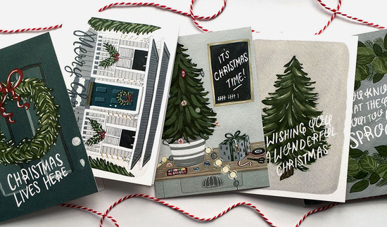 Love One Another Paper Co Christmas Greeting Cards