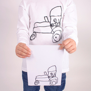 Personalised with childrens drawings