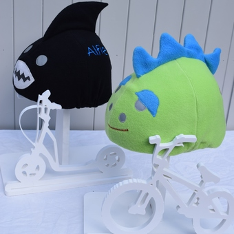 a hat cover u ski helmets and horseriding