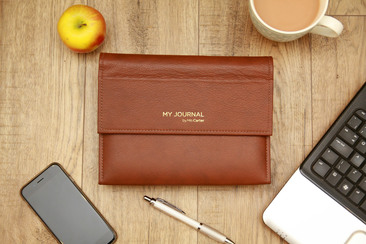 luxury leather journals