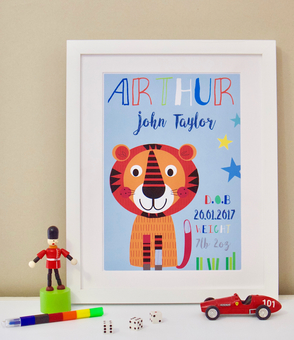 personalised childrens print