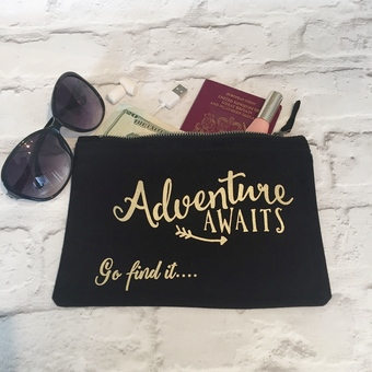 Adventure awaits travel wallet