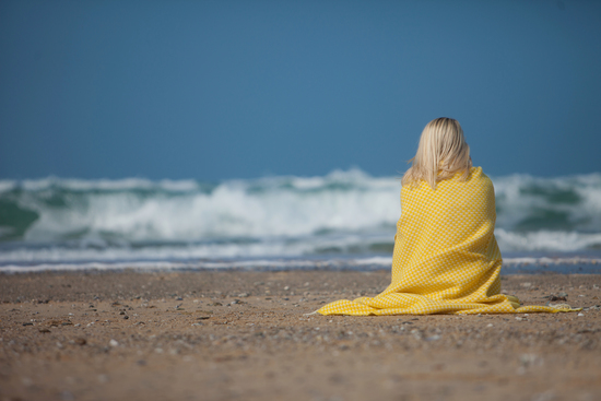 Blankets inspired by the coast of Cornwall