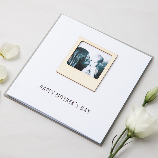 Photo Frame Mother's Day Card