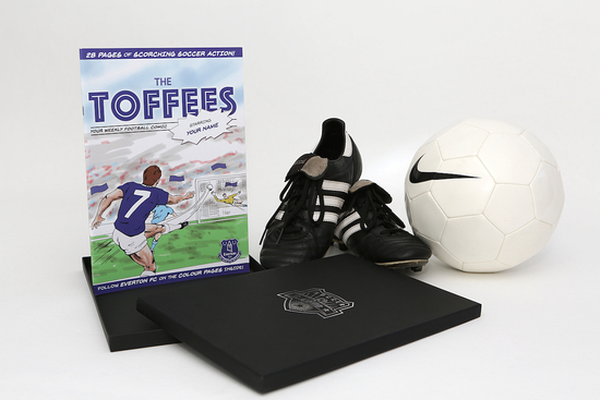Create your own personalised football book