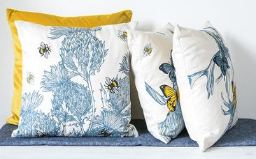 Gillian Kyle Home Range Cushions