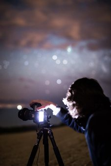 Photographing the stars