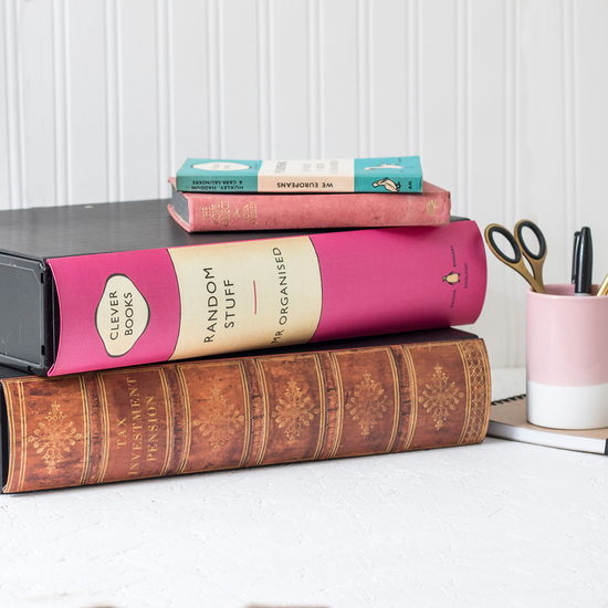 Our book themed items are both unique and practical, being made with over 40 years of bookbinding experience