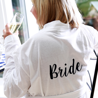 Personalised Bathrobes & Dressing Gowns