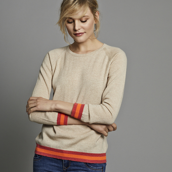 Philly Cashmere Jumper - Wheat
