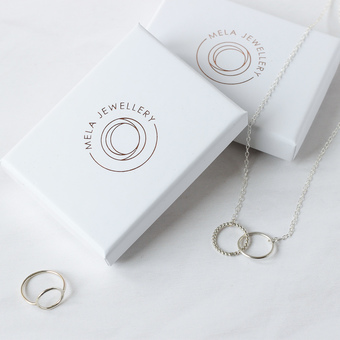 Simple jewellery by Mela Jewellery