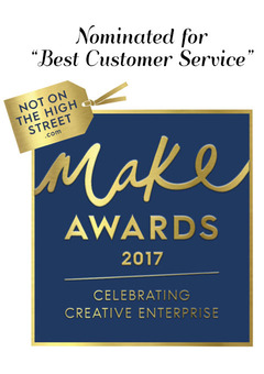 "Nominated for ""Best Customer Service"" Award"