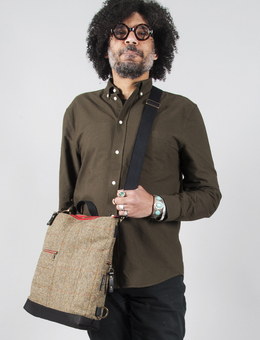 Harris Tweed Messenger