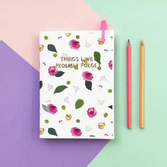 Summer Roses Notebook