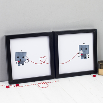 Robot Love Prints