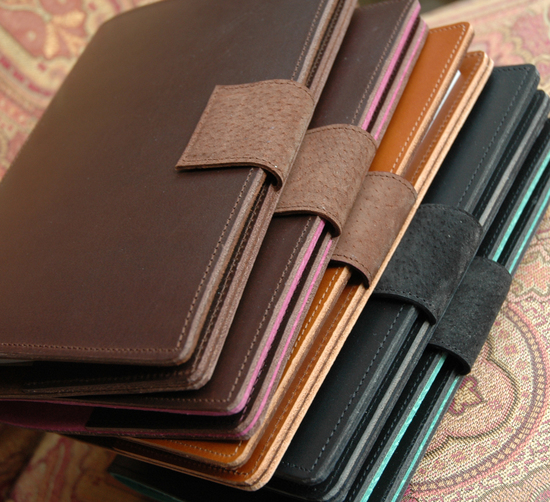 Leather Notebook Folio