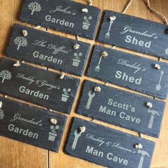 Personalised Slate Signs
