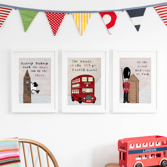 Our best selling London Prints