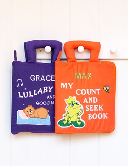 personalised fabric books