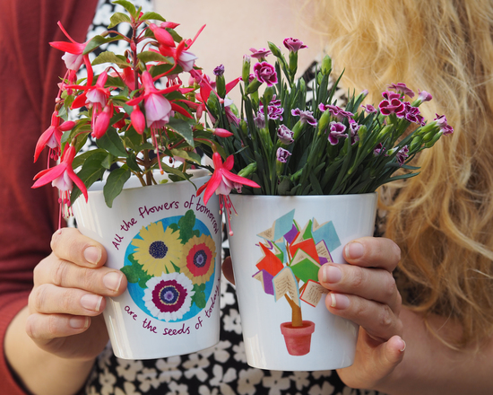 teacher plant pot gifts