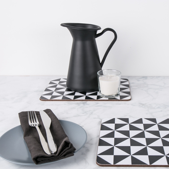 Geometric Placemat Sets