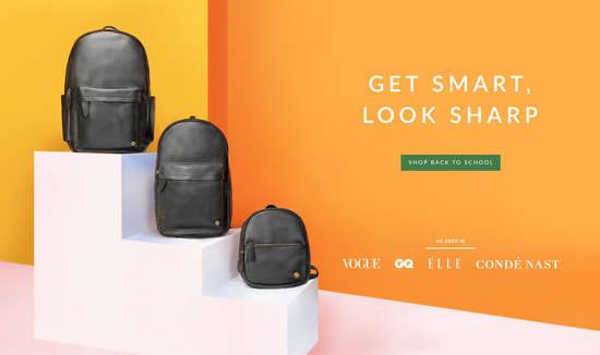 MAHI Leather Back to School Campaign