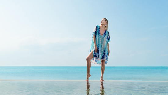 THE WIT AND THE WILL | Kaftans, Kimonos, Beach Scarves & Sarongs | Resort wear for the bold sun seeker