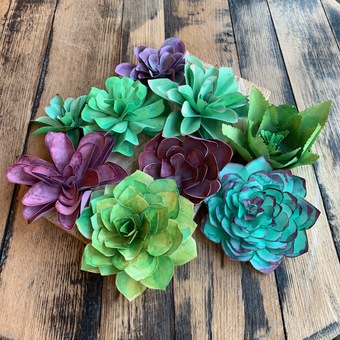 Paper Succulent Making Kit