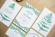 Botanical Wedding Stationery
