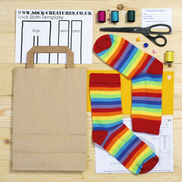 A Sock Creature Craft Kit