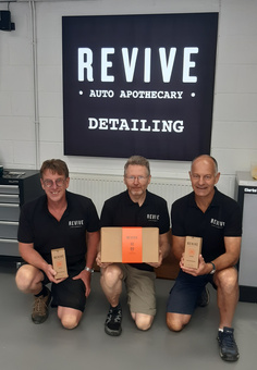 REVIVE directors: Andy, Mark & Neil