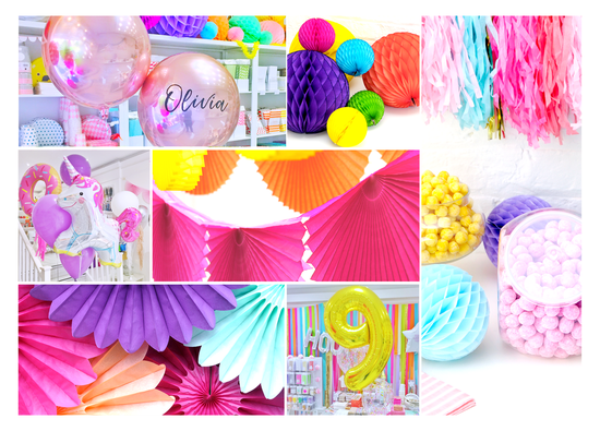 Peach Blossom Party Decorations