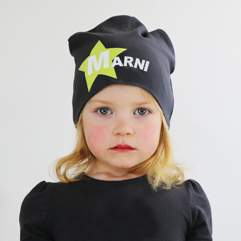 personalised baby and child beanie