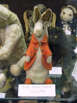 The original Peter Rabbit made by Steiff Circa 1905