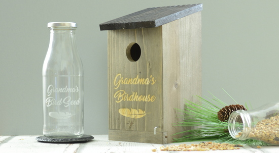 Personalised Birdhouse