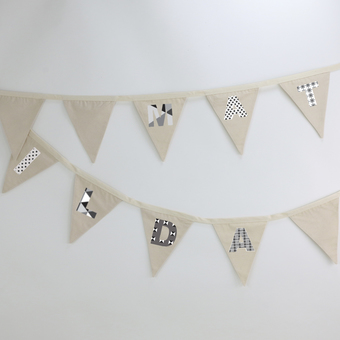 bunting for nursery