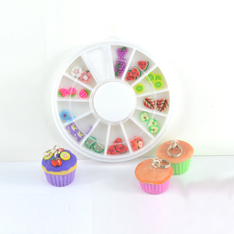 Cupcake Charms from Letterbox Kits