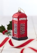 British Telephone Box Christmas Bauble