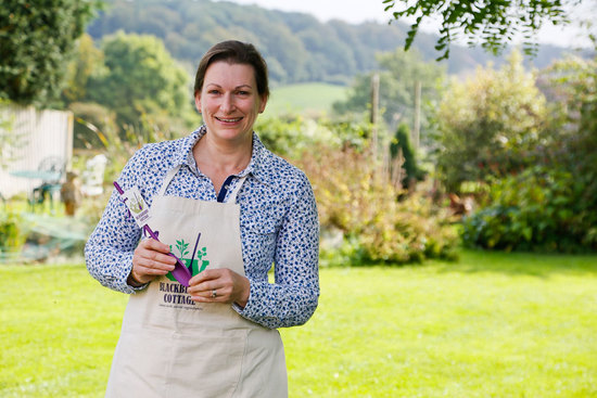 Kate Saunders - Owner of Blackberry Cottage