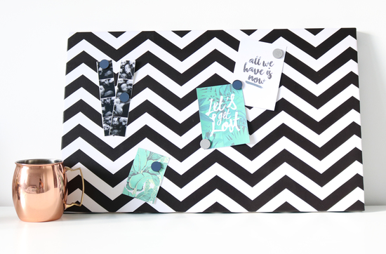Chevron Magnetic Noticeboard