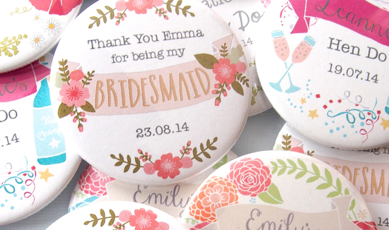 Bridesmaid and Hen Party Gifts